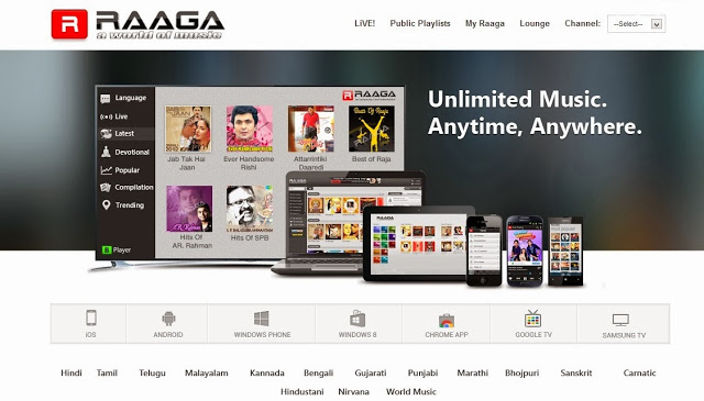 raaga movie site