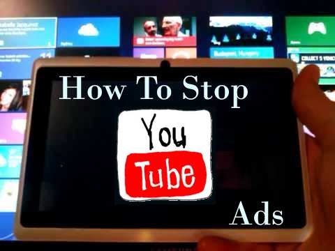 Stop Ads on YouTube