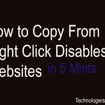 How To Copy From Right Click Disabled Website in 5 Mints