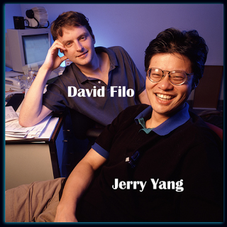 yahoo yahoo and founders jerry Created in january 1994 at stanford university by electrical engineering graduate students jerry lang and david filo, yahoo was originally called jerry and david.